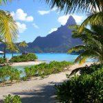 Traveling  to Bora Bora  Islands Pacific Ocean