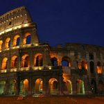 Traveling to Rome , Colosseum of Rome, Italy