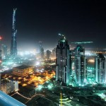 United Arab Emirates Dubai The Developing Desert City