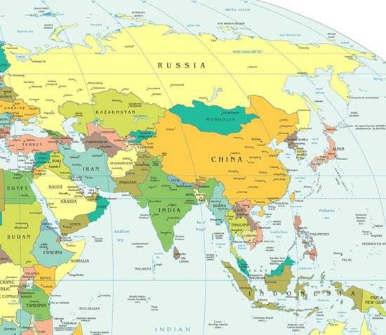 Traveling To Asia The Largest Continent Family Holidaynetguide - What is the biggest country in the world