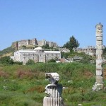 Traveling to Greek Temple of Artemis  Ephesus