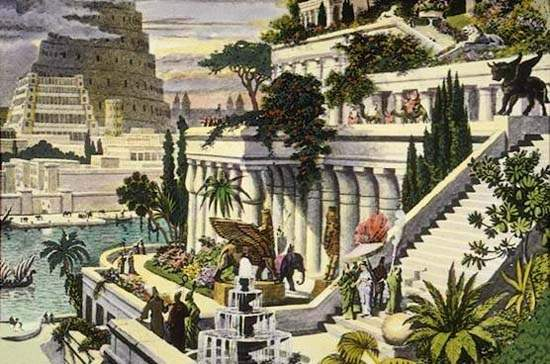 Hanging Gardens of Babylon Ancient Wonder (11)