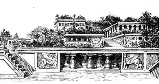 Hanging Gardens of Babylon Ancient Wonder (12)