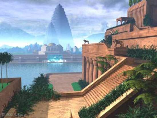 Hanging Gardens of Babylon Ancient Wonder (4)