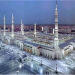 Traveling to Medina, Masjid Nabawi