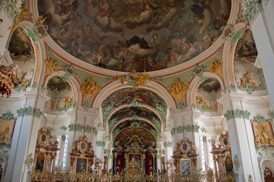 Traveling To Switzerland Abbey Of St Gall Benedictine