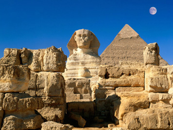 Great Sphinx, Chephren Pyramid, Giza, Egypt pictures - Copy