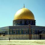 Traveling to  Jerusalem   Dome of the rock