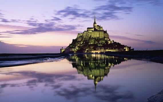 Le Mont-Saint-Michel, Normandie, France (St Michael's Mount in N