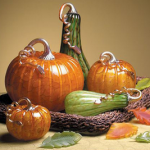 The  Gourds and Pumpkins for Fall and Halloween Decoration