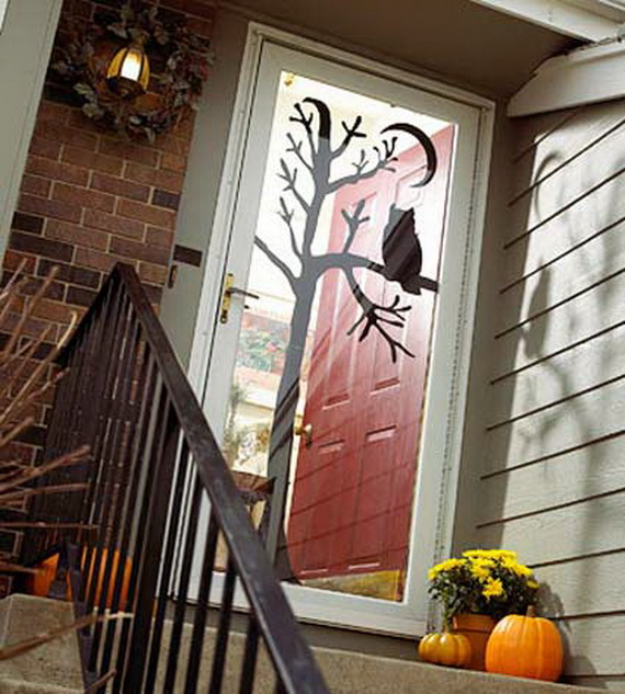 Happy Halloween With Door Decoration Ideas Family