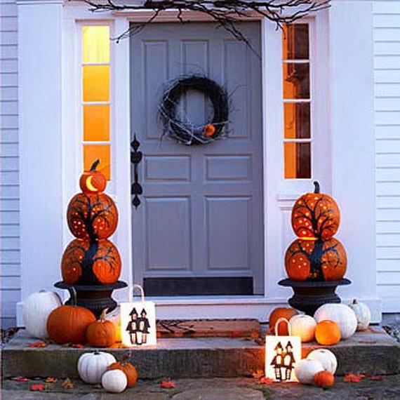 Happy Halloween, With Door Decoration Ideas  family  ~ 105339_Halloween Door Ideas For Work