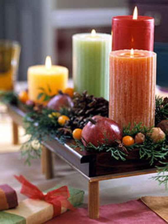exquisite candles for elegant thanksgiving holiday