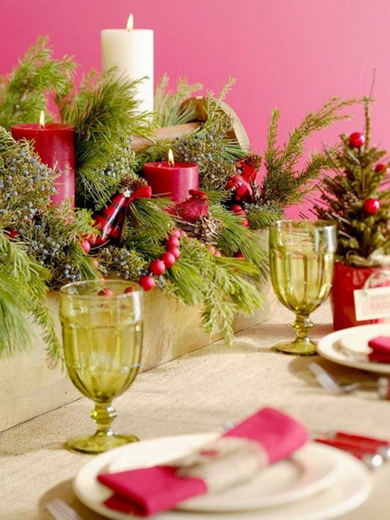 A New Look for Your Christmas Holiday Table_20