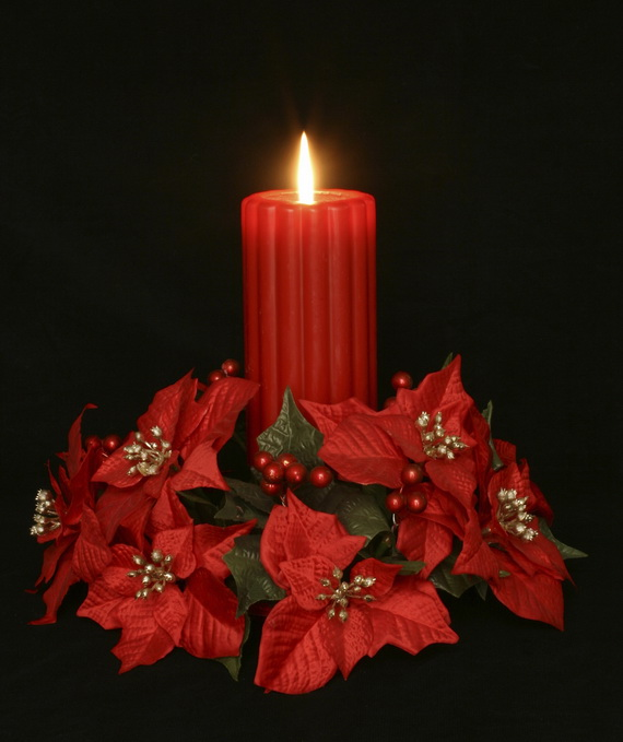 Creative Christmas Holiday Candles Family Holiday Net