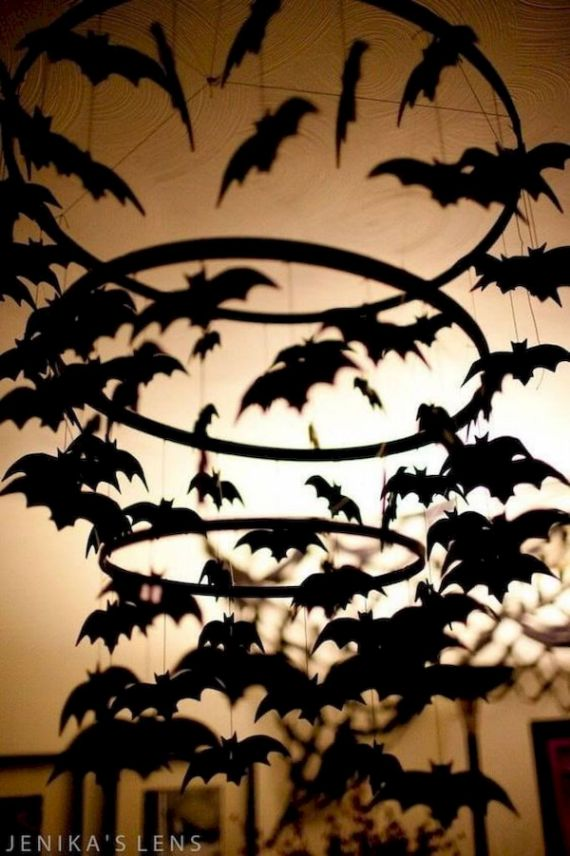 Bat Halloween-Decoration-Indoor-Ideas