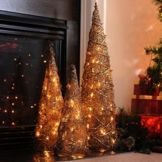 Cool Christmas Holiday Candles Decoration Ideas_06