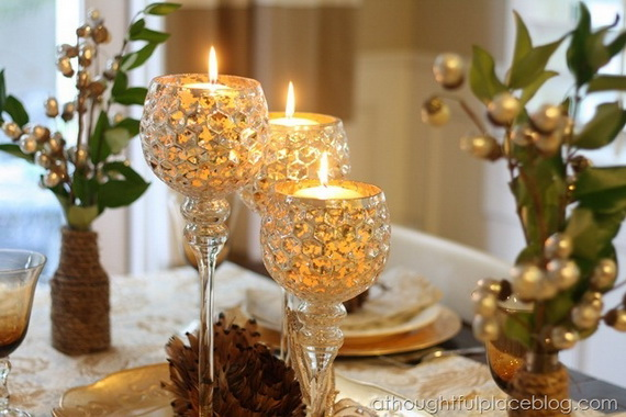 Cool Christmas Holiday Candles Decoration Ideas_08