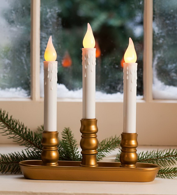 Cool Christmas Holiday Candles Decoration Ideas_09