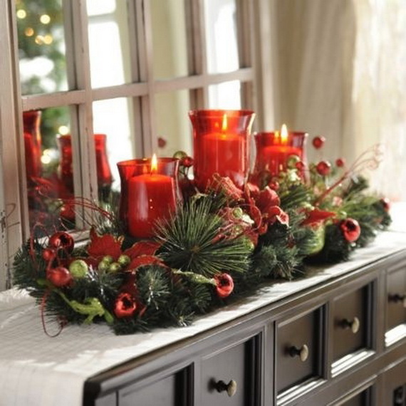 cool christmas holiday candles decoration ideas_17