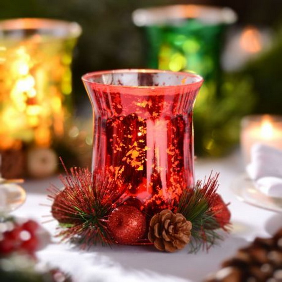 Cool Christmas Holiday Candles Decoration Ideas_21