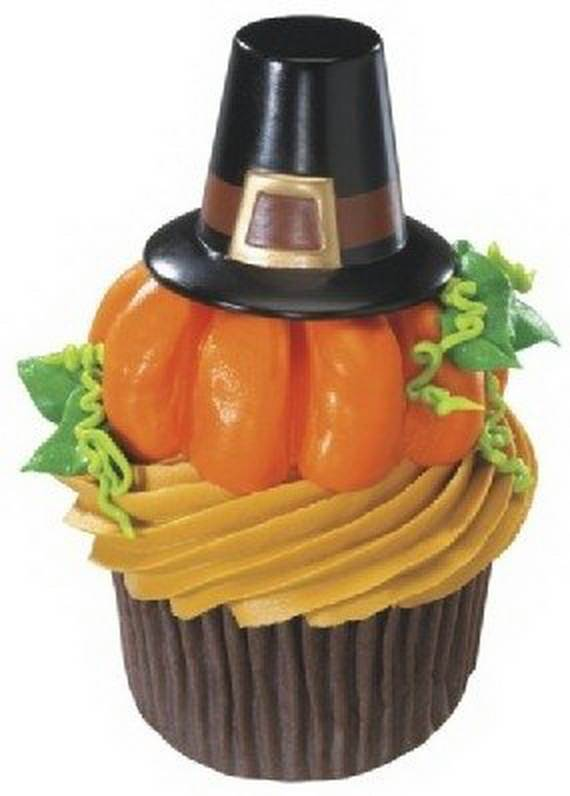 Easy Thanksgiving Cupcake Decorating Ideas (14)