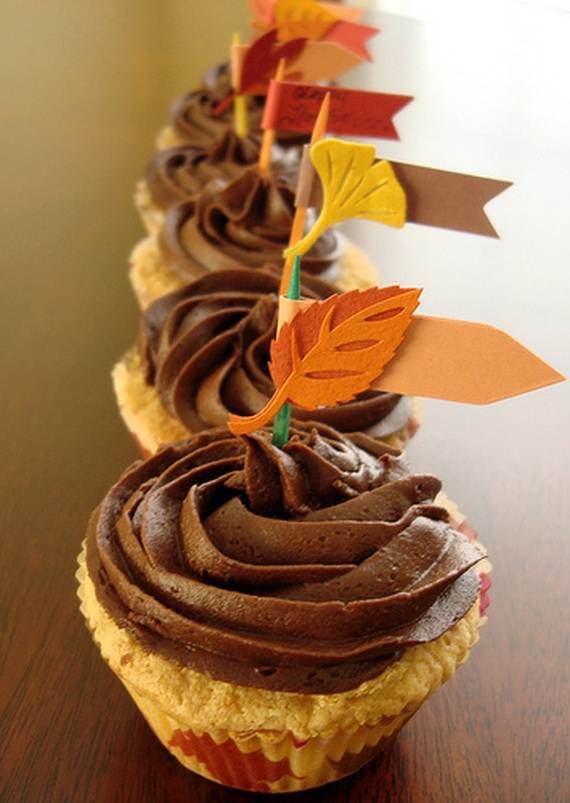 easy thanksgiving cupcake decorating ideas family