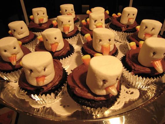Easy thanksgiving cupcake decorating ideas family for Decor thesaurus
