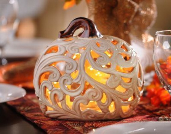 Elegant Table Decorations For Thanksgiving Holiday_03