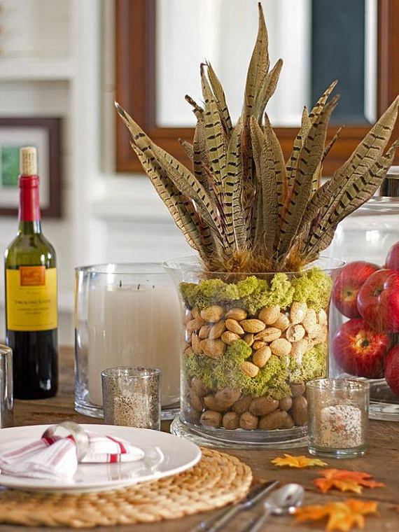 Elegant Table Decorations For Thanksgiving Holiday_11