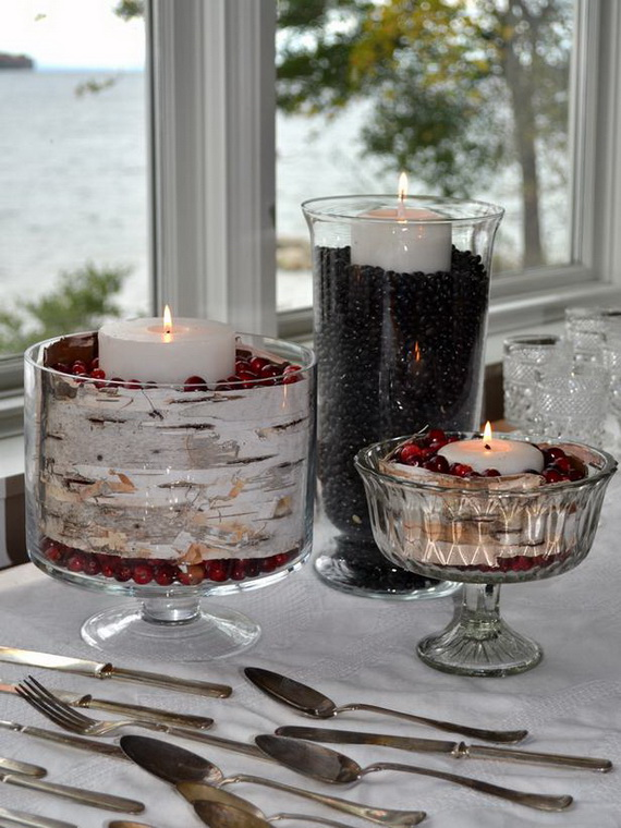 Elegant Table Decorations For Thanksgiving Holiday_15