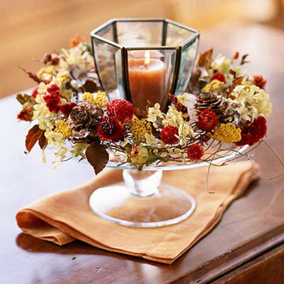 elegant thanksgiving table decorations