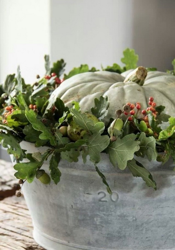 Elegant Table Decorations For Thanksgiving Holiday_23