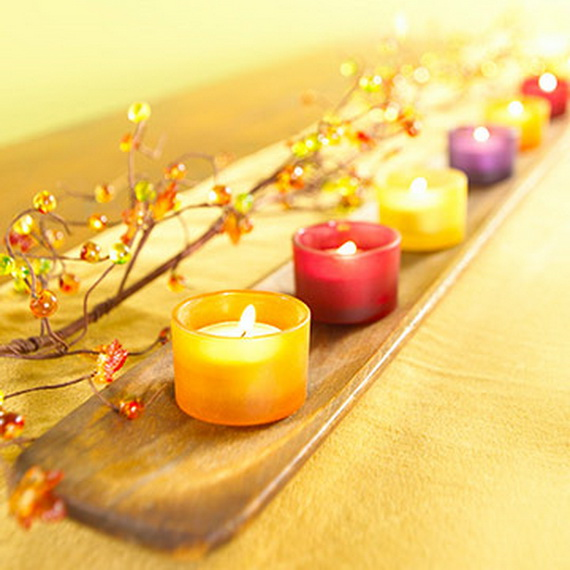 Exquisite  Candles  for Elegant Thanksgiving   Holiday_01