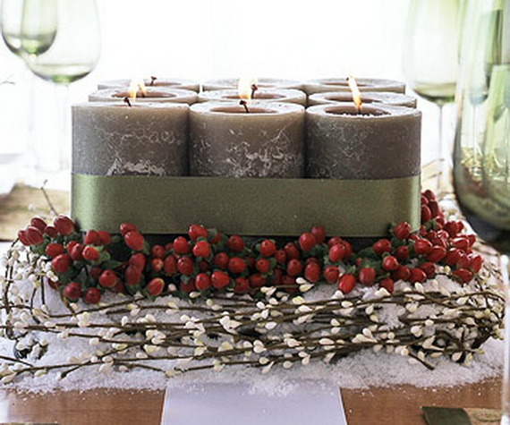 Exquisite  Candles  for Elegant Thanksgiving   Holiday_02