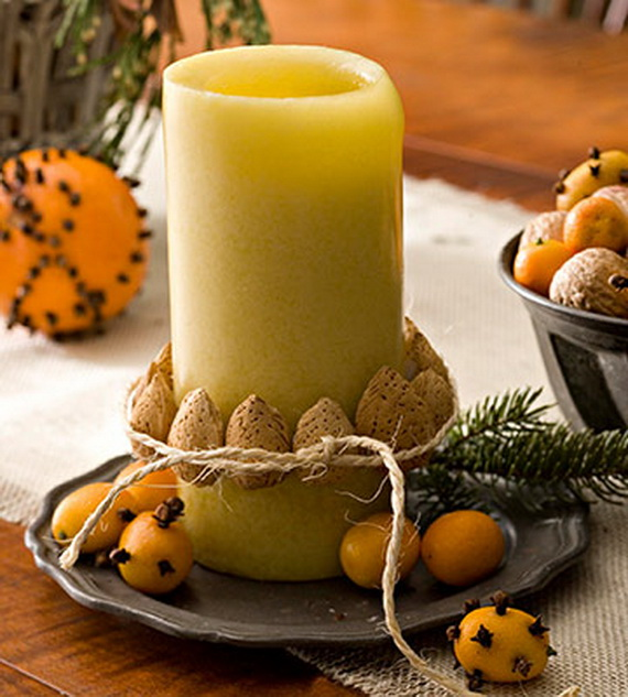 Exquisite  Candles  for Elegant Thanksgiving   Holiday_06