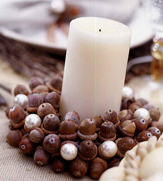 Exquisite  Candles  for Elegant Thanksgiving   Holiday_09