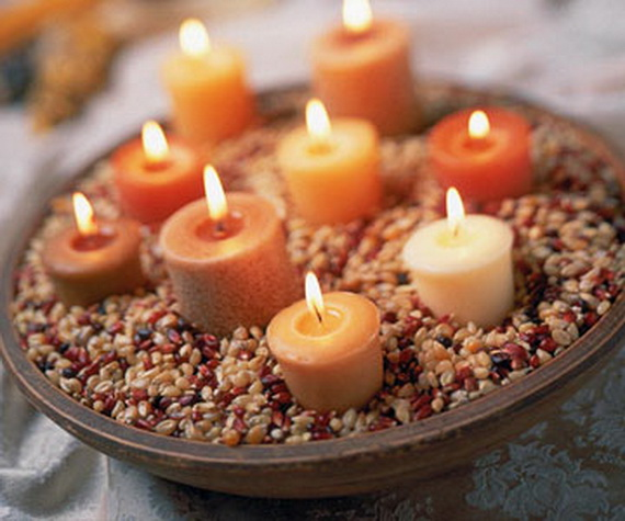 Exquisite  Candles  for Elegant Thanksgiving   Holiday_11