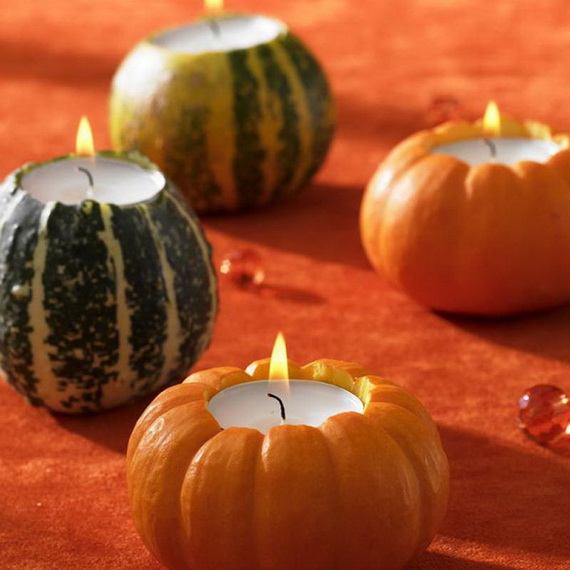 Exquisite  Candles  for Elegant Thanksgiving   Holiday_15