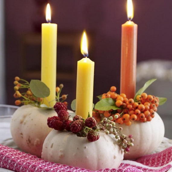 Exquisite  Candles  for Elegant Thanksgiving   Holiday_20