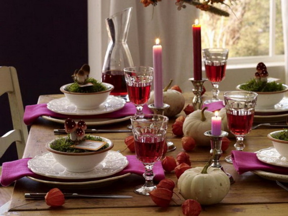 Exquisite  Candles  for Elegant Thanksgiving   Holiday_21