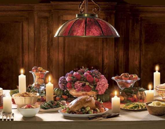 Exquisite  Candles  for Elegant Thanksgiving   Holiday_22