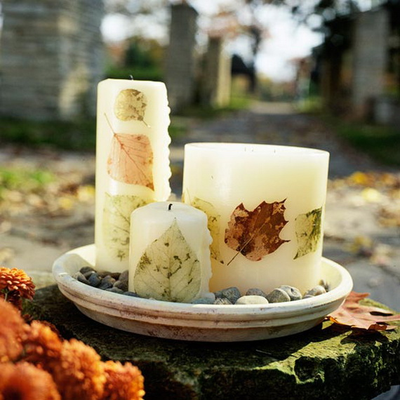 Exquisite  Candles  for Elegant Thanksgiving   Holiday_23
