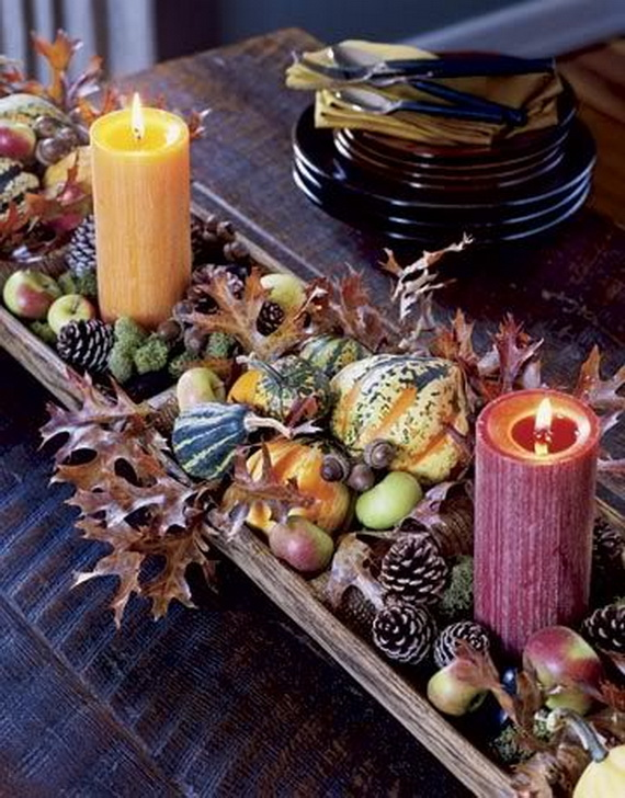 Family Fun With Easy Centerpiece Ideas On Thanksgiving_01
