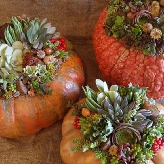 Family Fun With Easy Centerpiece Ideas On Thanksgiving_02