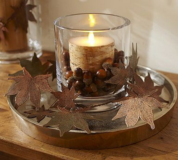 Family Fun With Easy Centerpiece Ideas On Thanksgiving_05
