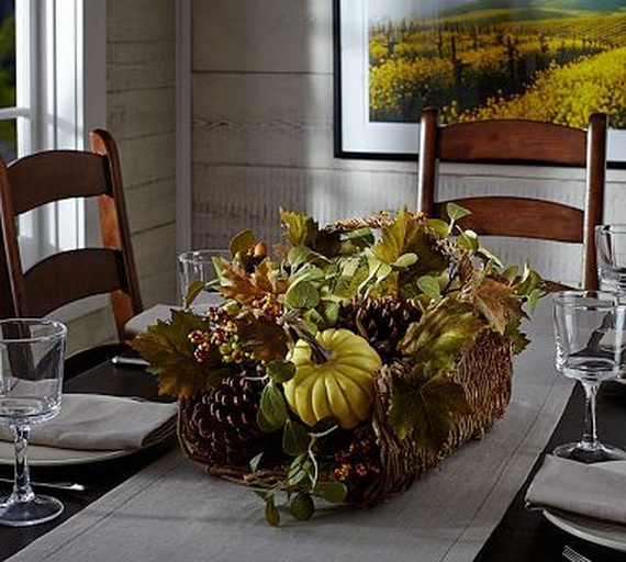 Family Fun With Easy Centerpiece Ideas On Thanksgiving_08