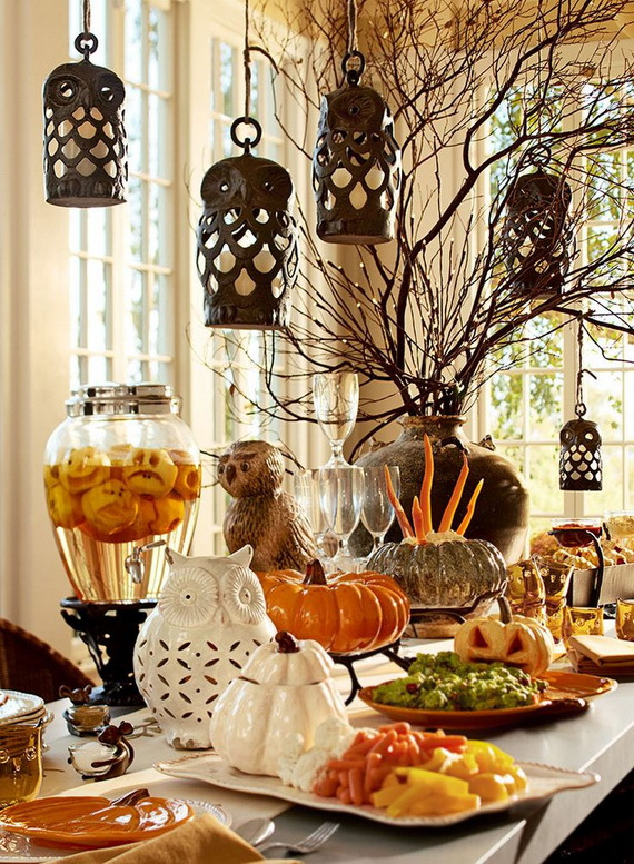 Family Fun With Easy Centerpiece Ideas On Thanksgiving_20