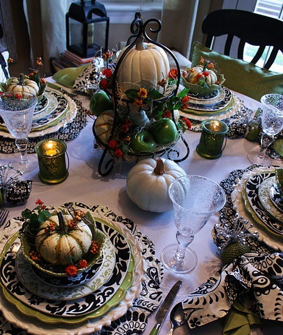 Family Fun With Easy Centerpiece Ideas On Thanksgiving_25