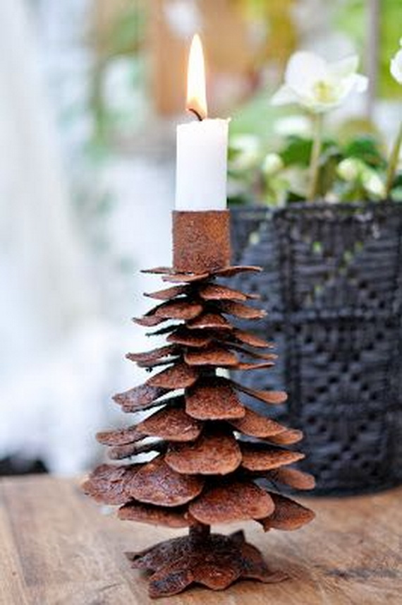 Holiday Decorating Ideas with Christmas Tree Candles_01